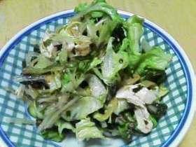 ダイエット中でも安心!海藻たっぷりサラダ
