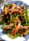簡単! 牛肉と野菜・焼き肉のたれ炒め