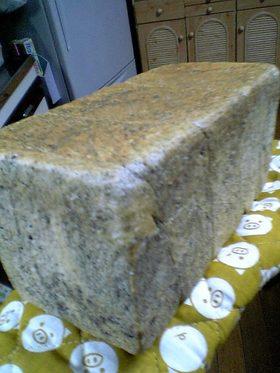 黒ごまの食パン。ぁ、「すりごま」でね^^