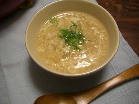 くずし豆腐のあったかスープ