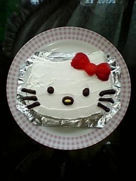 かわいい♪キティーケーキ