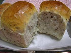 中力粉でごま山形食パン
