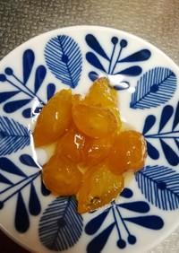 庭の金柑⭐甘露煮