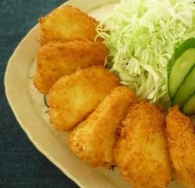 牛乳豆腐のフライ
