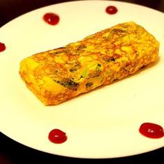 妊婦さんの鉄分補給に!小松菜の卵焼き