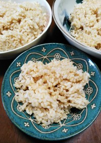 一番簡単♪炊飯器で毎日炊く♪玄米の炊き方