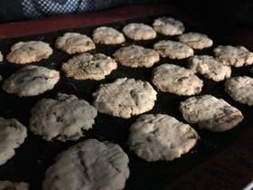 生おから&大麦クッキー(小麦粉不使用)
