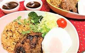 子供喜ぶ【ガパオ炒飯のロコモコ丼】