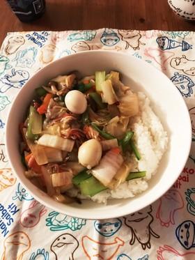 中華丼(八宝菜)