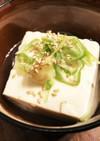レンジで簡単!湯豆腐