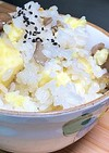失敗しないさつま芋と舞茸の炊き込みご飯