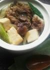 牛こま切れで作る!関西すきやき風肉豆腐