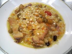 鶏肉の田舎煮南イタリア風