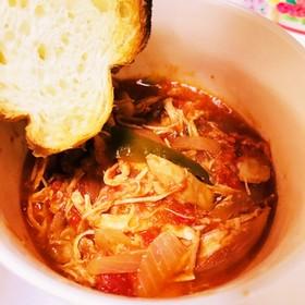 [コストコ]チキンで食べるスープ