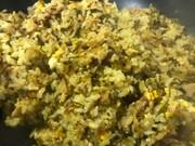 高菜と豚バラの簡単パラパラ炒飯の写真