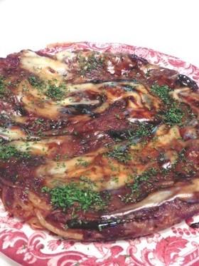 コンビーフとジャガイモの味噌ガレット