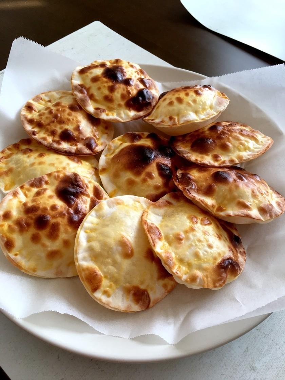 餃子の皮で!チーズアップルパイ☆