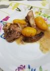 羊肉と野菜
