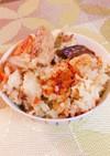 ♬サバ缶とゴボウの炊き込みご飯♬