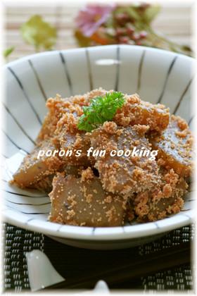 ✿こんにゃくとタラコの甘辛バター炒め煮✿