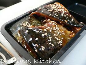 鯖のピリ辛韓国風照り焼き