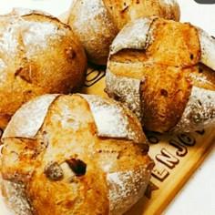 アーモンドとクランベリーのハードパン