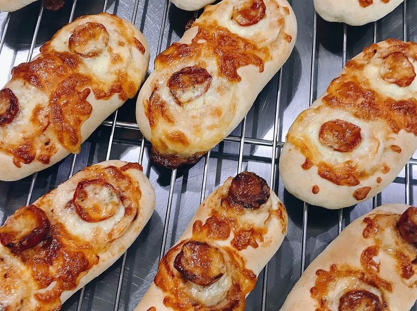 健康の野菜パンシリーズ@山芋トマトパン