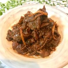 ひと手間でパサパサしない牛肉のしぐれ煮