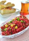 トルコ家庭料理☆ビーツのピンクサラダ