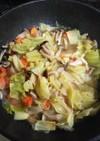 無駄なく♪サバ缶缶汁と残り野菜のスープ♪