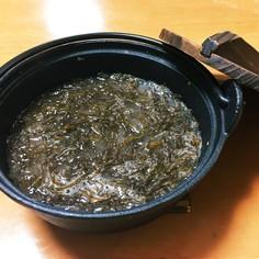 三陸フノリ汁