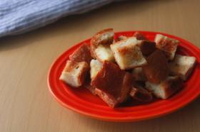 余った食パンで!簡単メープルラスク