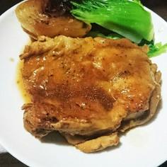 鶏肉バルサミコ酢煮込み