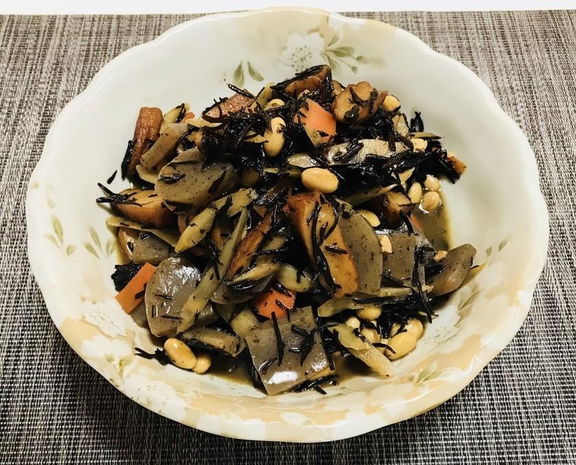 大豆とひじきの煮物・簡単ひじき煮