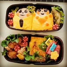 簡単お雛様のお弁当★ひな祭り料理★