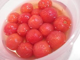 簡単*ミニトマトのマリネ お弁当にもOK