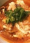 【簡単!家にある材料で】キムチ春雨スープ