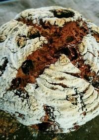 全粒粉と米粉のいちじくカンパーニュ
