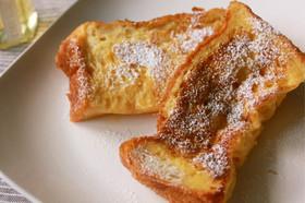 時短で簡単!食パンでフレンチトースト