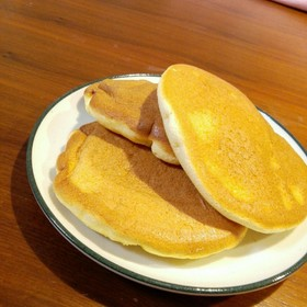 フライパンで!ふわふわ☆幸せのパンケーキ
