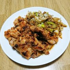 ✨鶏の生姜焼き✨ネギ添え♪