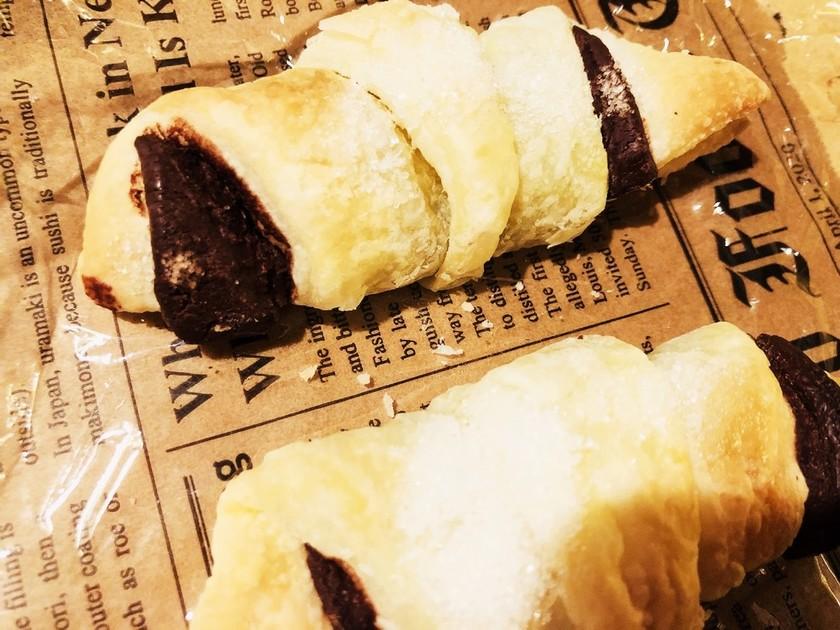 ☆パイシートで作るチョコクロワッサン☆