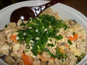 優しい味です、わが家の炒り豆腐