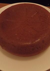 ココアパウダー消費用シフォンケーキ