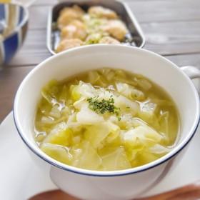 朝食に!キャベツの甘さを感じるスープ