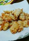 餃子の皮でパリパリハムチーズ