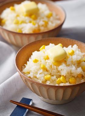 北海道♪こっくりバターのコーンごはん