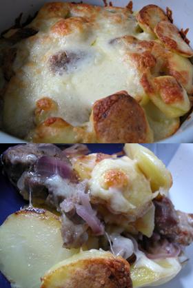肉やポテートのグラタン「ハンガリー料理」