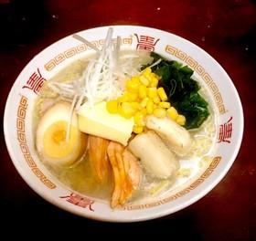 無化調ラーメン!魚貝スープだよ。