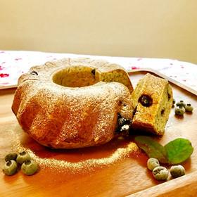 ふわゴロ♡紅茶ブルーベリーのクグロフパン